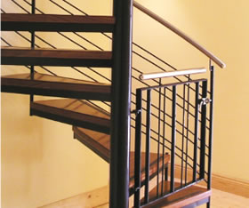 Helical Staircase & Metal work